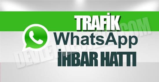 Whatsapp Trafik İhbar Hattı 2021
