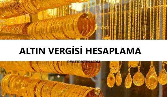 Altın Alım Satım Vergisi Hesaplama (Güncel)