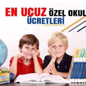 En Ucuz Özel Okul Fiyatları 2021-2022 Dönemi Kolejler (GÜNCEL)