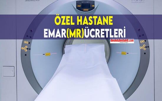 Özel Hastane MR Ücretleri 2021 (İstanbul, Ankara, İzmir)