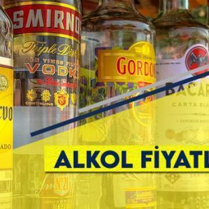 Yeni Alkol Fiyatları 2021 (Zamlı Liste)