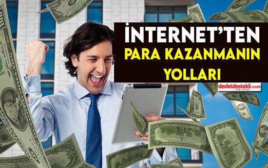 İnternetten Para Kazanma Yolları 2021 (EN KESİN YÖNTEMLER)