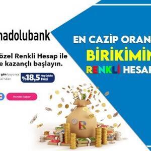 Anadolubank Renkli Hesap Nedir Özellikleri (Hesap Aç Kazanmaya Başla)
