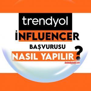 Trendyol Influencer Başvurusu 2021 Nasıl Yapılır?  (LİNK PAYLAŞARAK KAZAN)