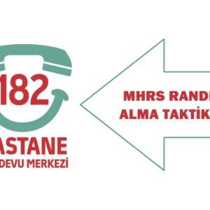 MHRS Randevu Alma Taktiği 2021